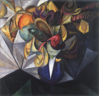 Александр Константинович Богомазов. Still-life with flowers