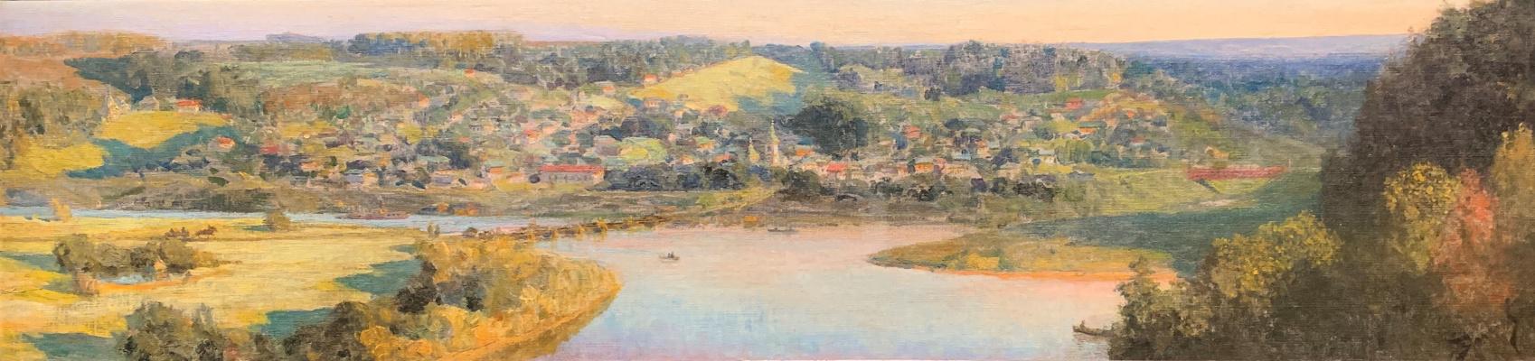 Vasily Dmitrievich Polenov. View of Tarusa