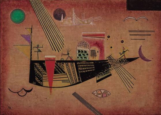 Wassily Kandinsky. Moody