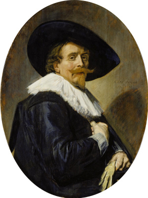 France Hals. Portrait of a man