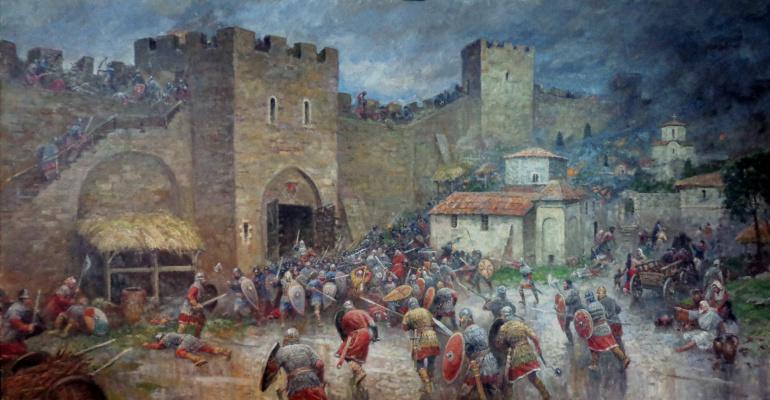 Aleksandr Chagadaev. Siege