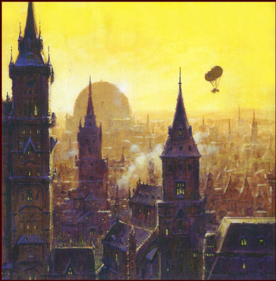 Эдуард Миллер. Города