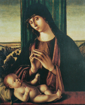 Салиба де Антонелло. Мадонна с Младенцем