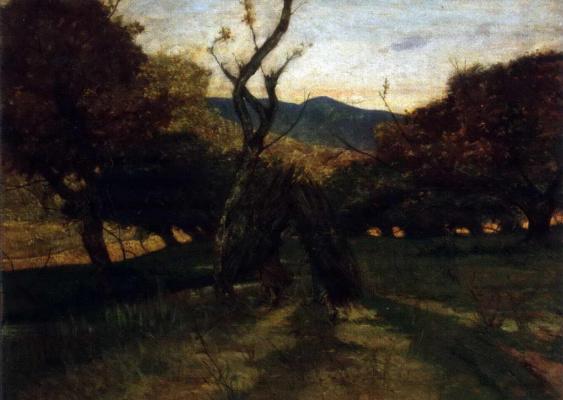 Giovanni Fattori. Twigs of brushwood