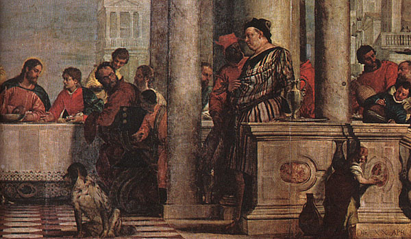 Paolo Veronese. Feast in the house of Levi