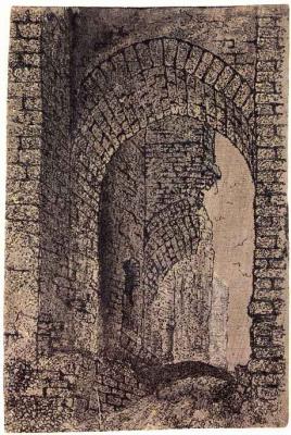 Херкюлес Питерс Сегерс. Входные ворота замка Бредероде