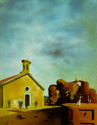 Salvador Dali. Bread on the head of the prodigal son