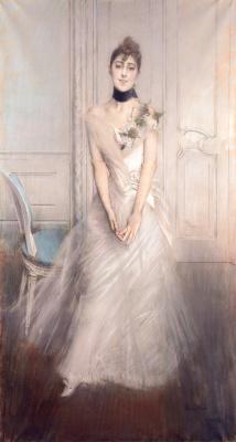 Giovanni Boldini. Portrait of Emiliana Concha de Oss