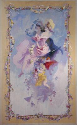 "Jules Chere. Spring. Roses. Series ""Seasons"""