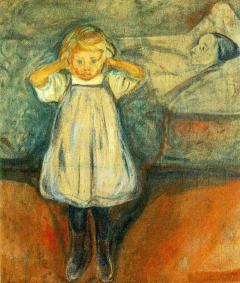Edvard Munch. Dead mother