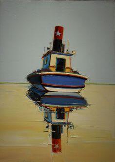 Уэйн Тибо. Корабль