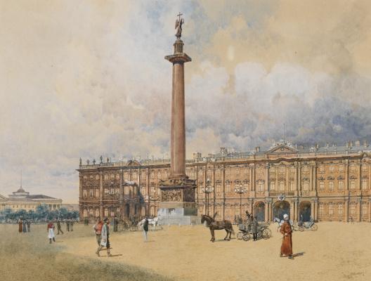 Franz Copallicus Austria 1860 - 1931. Winter Palace.