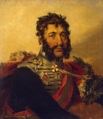 George Dow. Portrait of Yakov Petrovich Kulnev