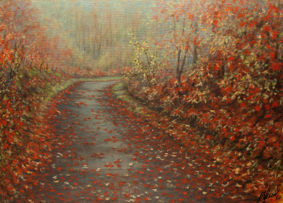 Valery Levchenko. No. 192 Red Leaves
