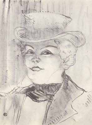 Henri de Toulouse-Lautrec. Madame Regain