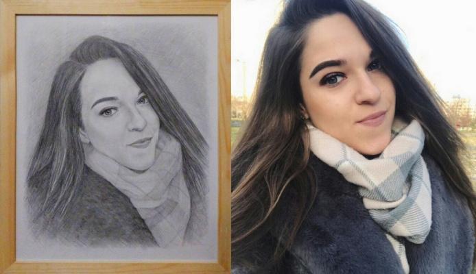 Olga Alexandrovna Suslova. Pictures, portraits to order.