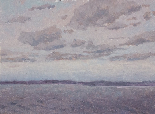 Igor Igorevich Krieger. Clouds over Sebezh