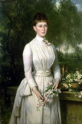 Карл Рудольф Зон. Портрет великой княгини Елизаветы Федоровны