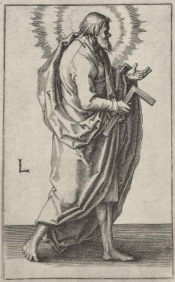 Лукас ван Лейден (Лука Лейденский). Апостол Иаков Младший