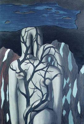 René Magritte. Landscape