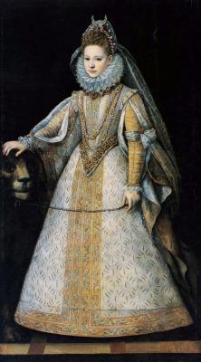 Sofonisba Anguissola. Portrait of Marguerite di Savoia