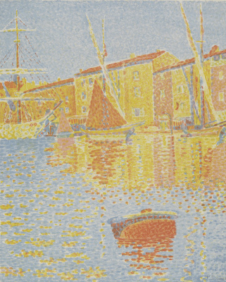 Paul Signac. Buoy (Saint-Tropez, port)