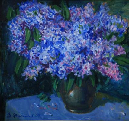 Зиновий Иванович Филиппов. Сирень. 2005