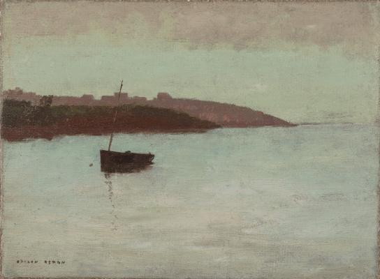 Одилон Редон. Рыболовная лодка