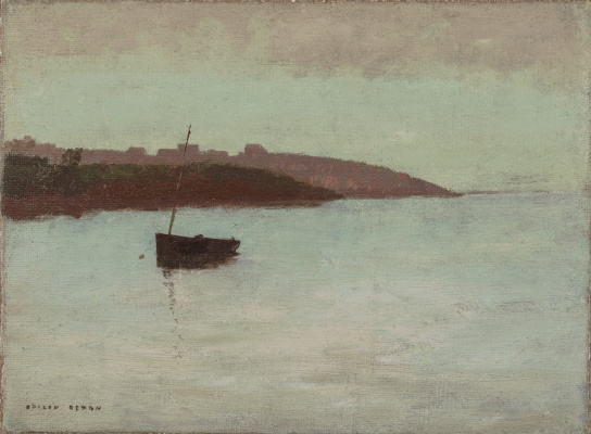 Odilon Redon. A fishing boat