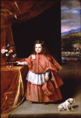 Juan Batista Martinez del Maso. Child in church vestments