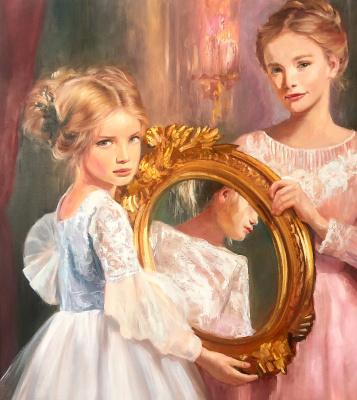 Kseniya Scher. Girls and the mirror