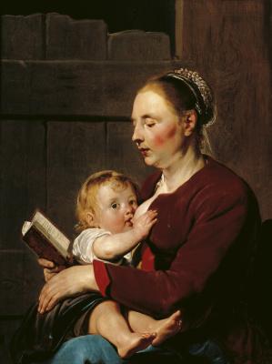 Франс Питерс де Греббер. Мать с ребенком. 1622