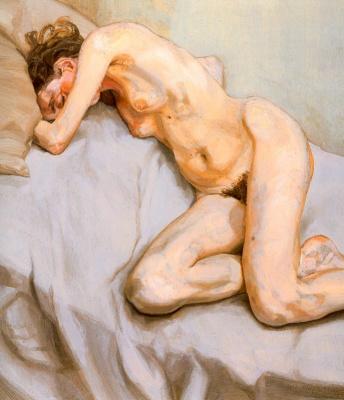 Lucien Freud. Nude girl