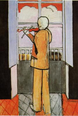 Анри Матисс. Скрипач у окна