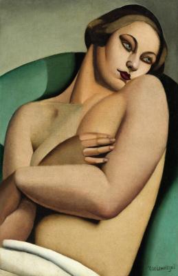 Tamara Lempicka. Reclining Nude