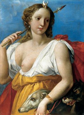 Диана - охотница. 1601-1603