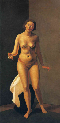 Andre Derain. Nude woman holding an Apple