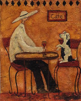 Деби Хаббс. Кафе