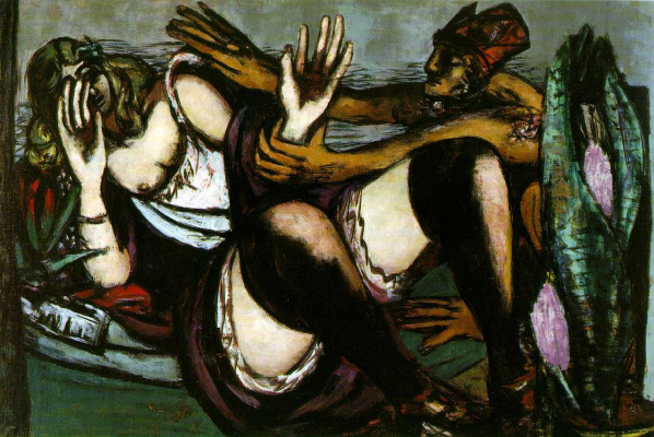 Max Beckmann. In the afternoon
