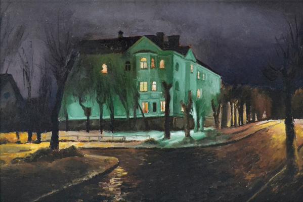 Igor Vladimirovich Mashin. Vokzalnaya Street, Fryazino
