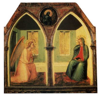Pietro Lorenzetti. The Annunciation