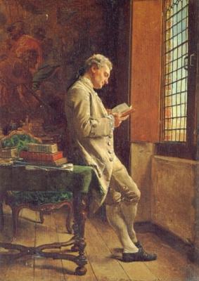 Жан-Луи-Эрнест Месонье. Читатель в белом