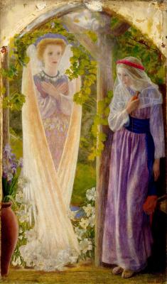 Arthur Hughes. Annunciation