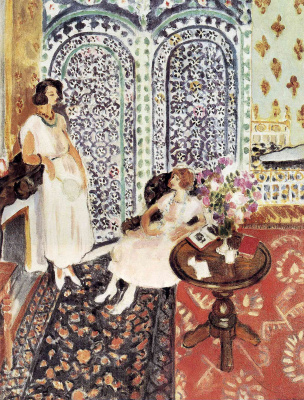 Henri Matisse. Moorish screen