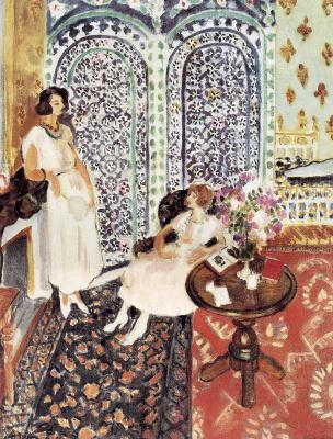 Henri Matisse. Moorish screen