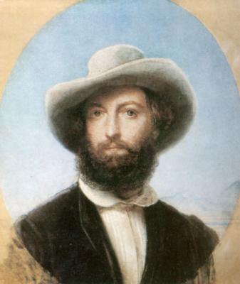 Fedor Antonovich Moller. Self-portrait