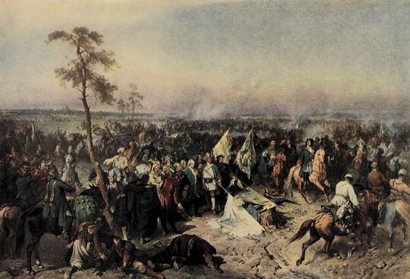 Alexander Evstafievich Kotzebue. Poltava victory