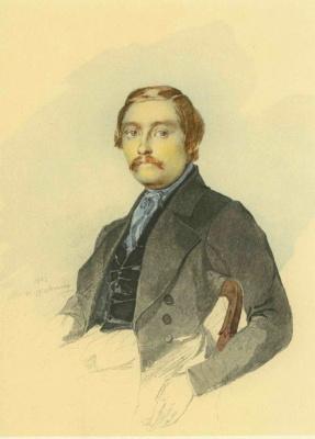 Taras Grigorievich Shevchenko. Portrait Of Ivan A. Katerynych