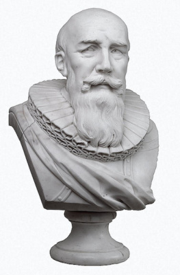 Marie Anne Collot. Bust of Duke de Sully