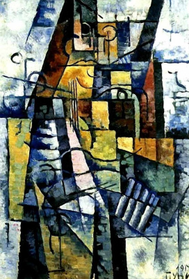 Иван (Жан) Альбертович Пуни. Портрет жены художника